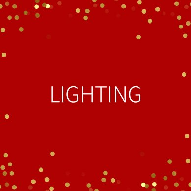 Winter Sale Lighting