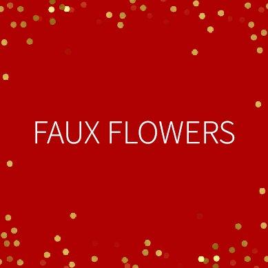 Winter Sale Faux Flowers